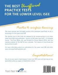 Practicing Independence Skills Get Ready For K Through by The Best Unofficial Practice Tests For The Lower Level Isee