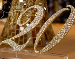 gold wedding table numbers 1 20 rhinestone gold table number for wedding birthday or any