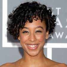 cute short hairstyles for curly hair for black women popular