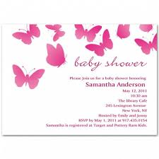 butterfly baby shower invitation bs018