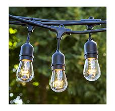 Exterior String Lights by Top 10 Best Outdoor String Lights In 2017 Reviews