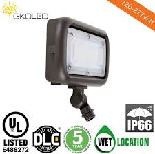 gkoled 30w led floodlight outdoor security fixture waterproof