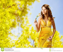 Beautiful Pictures Of Spring by Beautiful Lady Dress Flowers Stock Photos Images U0026 Pictures