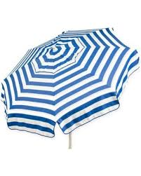 Blue And White Patio Umbrella Spectacular Deal On 6 Italian Patio Umbrella In Blue White