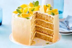 mango and coconut cake