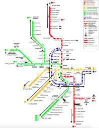 Metro Gold Line Map by Final Project Breakthrough For Doha Metro