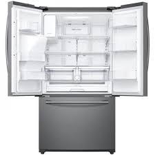 Samsung French Door Refrigerator Cu Ft - samsung 24 2 cu ft capacity 3 door french door refrigerator