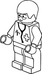 lego clip art pitr lego town doctor coloring page wecoloringpage