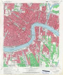 New Orleans Street Map Pdf by File New Orleans Section And West Bank 1966 Map Jpg Wikimedia