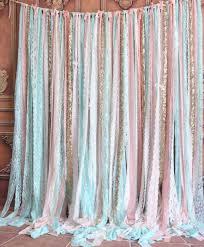 wedding backdrop tutorial wedding ideas mint lace fabric pinksparkle sequin photo booth