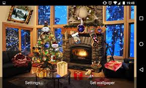 christmas fireplace lwp android apps on google play