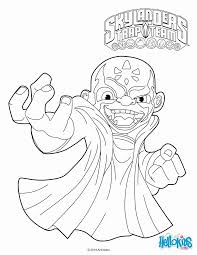 how to make skylanders trap team coloring pages kaos widetheme