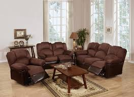 Sofa And Recliner Microfiber Recliner Loveseat Sofa Set