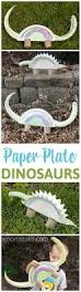 easy paper plate dinosaur craft tutorial a mom u0027s take