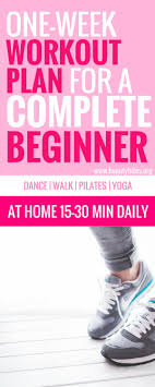 workout plans for beginners at home 7 days workout plan for complete beginners beauty bites