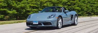 2017 porsche 718 boxster adds might and refinement consumer reports