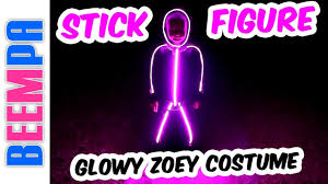 stick figure halloween costumes led stick figure costume las vegas family vlog baby led light