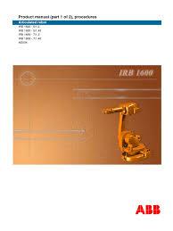 abb s3 irb1600 3hac023637 001 procedures rev en electrostatic