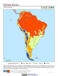 Patagonia South America Map by Map South America Climate Zones Co Op Pinterest