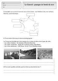 littoral paysages de bords de mer ce1 u2013 exercices u2013 espace