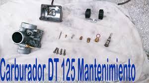 yamaha dt 125 limpiar carburador primera parte toromotos youtube