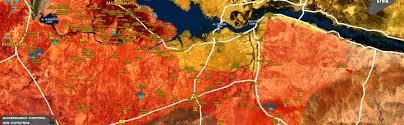 syrian civil war map