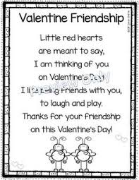 valentines day friendship poem for friendship poems
