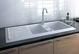 Builtin Ceramic Kitchen Sink By Duravit New Cassia - Kitchen sinks ceramic