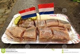 jeannette cuisine herring snack with flags stock photo image of flags