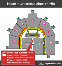 miami airport terminal map miami fort lauderdale airport shuttle to the trip