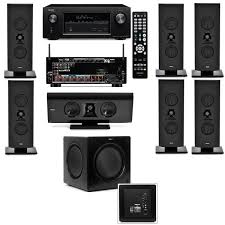 denon home theater receiver klipsch gallery g 16 7 1 home theater system sw