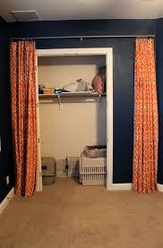 replace bifold closet doors with curtains thesecretconsul com
