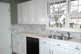 Interior  White Marble Backsplash Design Marble Backsplash - Marble backsplash tiles