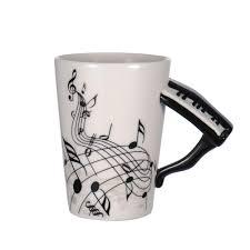 design coffee mug unique music note design coffee mug piano handle coffee mugs