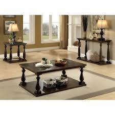 Walnut Sofa Table by Transitional Dark Walnut Sofa Table