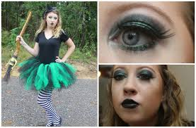 Diy Makeup Halloween by Halloween With Hannah Wicked Witch Costume U0026 Makeup Diy Tutu