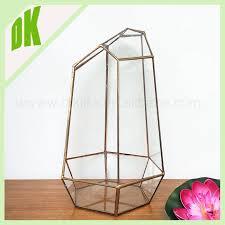 new home keepsake display table gold vase terrarium candle holder