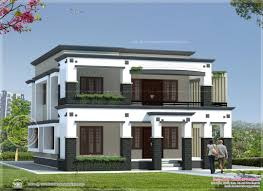 concrete roof house plans flat roof house plans with photos small modern architecture kerala