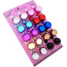 plastic stud earrings women s side electroplated plastic stud earrings pack