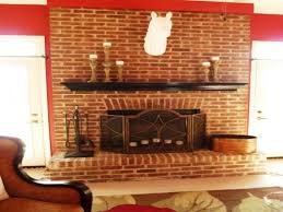red brick fireplace decorating ideas u2014 indoor outdoor homes