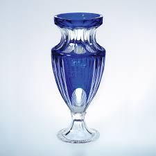 Cobalt Blue Crystal Vase Vases 8