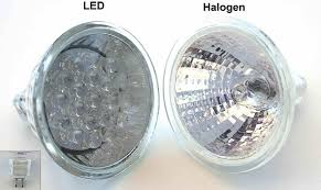 a guide to a commonly asked question led bulbs vs halogen lamps
