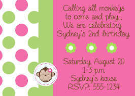monkey invitations baby shower free printable monkey baby shower invitations