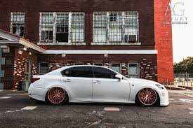 lexus white ag luxury wheels lexus gs350 f sport forged wheels