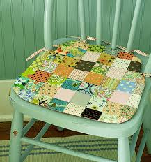 Rocking Chair Seat Pads Dining Room Fascinating Chair Cushions In Yellow With Flower