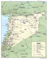 Map Of Europe With Major Cities by Maps Of Syria Detailed Map Of Syria In English Tourist Map Of