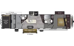 bighorn fifth wheel floor plans 2018 keystone carbon 357 model
