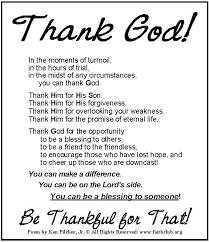 thank god christian faith bible