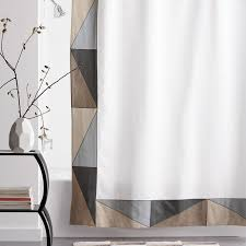 Neutral Shower Curtain Angles Cotton Shower Curtain Neutral The Company Store