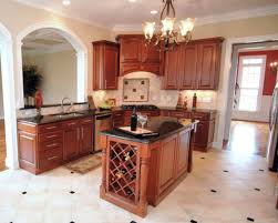 kitchen with small island beautiful kitchen island ideas with brown cabinet and chandelier